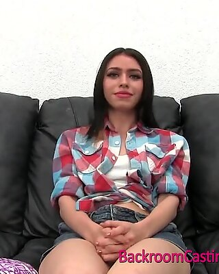 18 yo teenage Katrina internal ejaculation casting