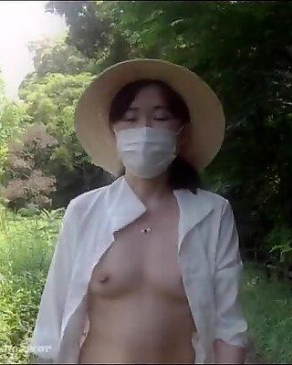 Japonais exhibitioniste épouse (blurred ver.) - the secret vlog episode 46