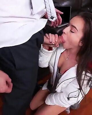 Rough riding hard and fast thai hardcore Babysitters love stiff cock