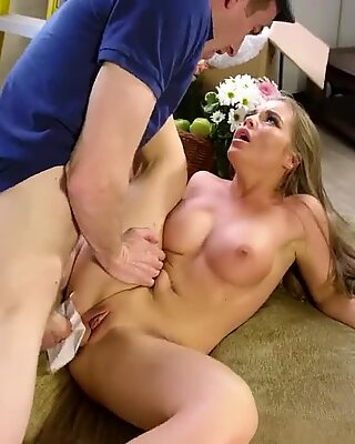 New Neighbor Needs A phat pipe To pack Her Pussy - Brazzers