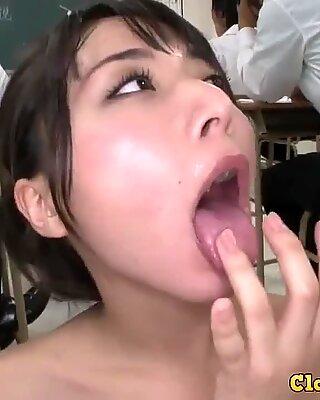 Deepthroat Cumshot- Japanese cocks mouth drink Gokkun