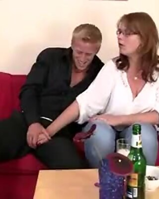 Boozed tart with gigantic hooters takes big cock