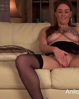 very first masturbation flick for super-sexy school teacher