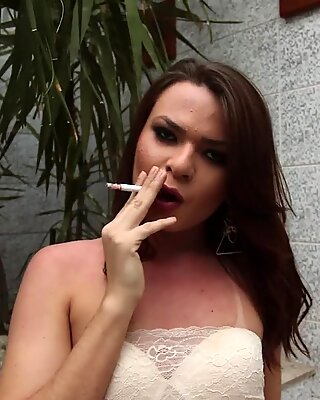 Hot tranny blowing hard cock in compilation