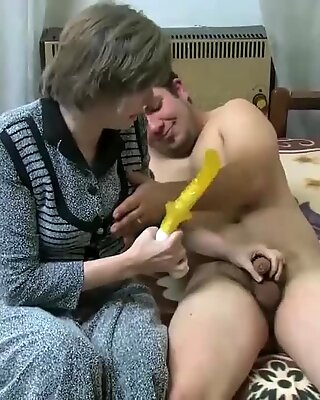 Rest old granny was fucked young guy