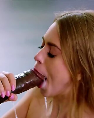 BLACKED Rich girl loves black cock