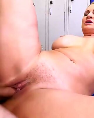 Blonde ass stockings and female agent milf anal Dominant MILF Gets A Creampie After Anal