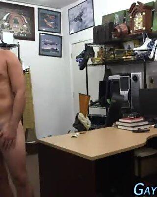Amateur jerks his cock