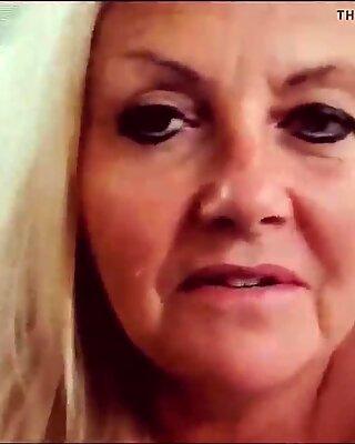 Mature Grandma Jackie Dirty Talk - Part 2