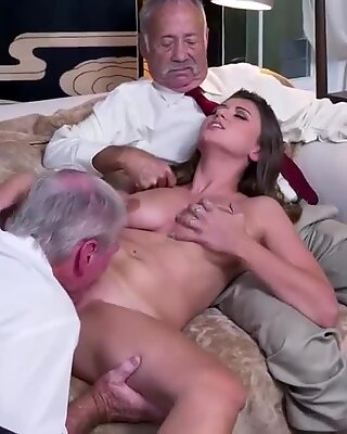Old red head granny Ivy impresses with her phat tits and ass - Ivy Rose