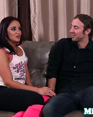 Pornstar Sheena Ryder Throating Tinder Match